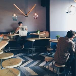 Café Barkett in Schöneberg, Berlin